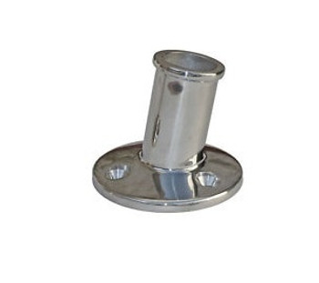 Sowester S/S Flag Pole Base - Surface Mounted