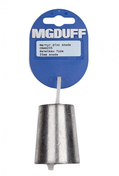 MGDuff Beneteau Zinc Propellor Anode 40mm
