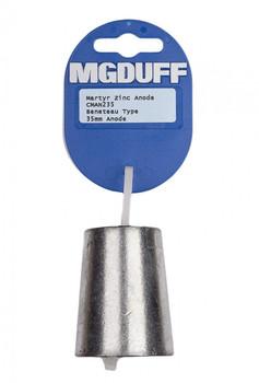 MGDuff Beneteau Zinc Propellor Anode CMAN245 45mm