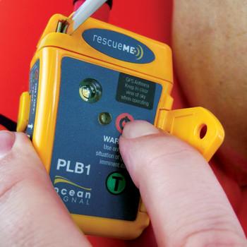 Ocean-Signal RescueME PLB1 - On button