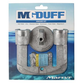 MG Duff Mercury / Mercruiser Bravo 1 Engine Anode Kit CMBRAVO23KITZ - Zinc