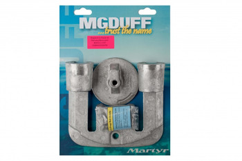 MGDuff Mercruiser Bravo 2 + 3 Magnesium Engine Anode Kit CMBRAVO23KITM