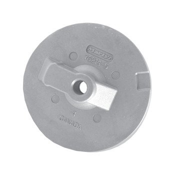 MGDuff Circular Plate Anode CM762144Z - Mercury/Mercruiser Bravo 3 - Zinc