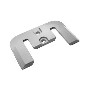 MG Duff Anode Plate for Mercruiser Bravo 1/2 & 3 CM821630C2Z - Zinc