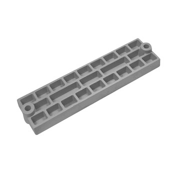 MGDuff Mercury Mercruiser Zinc Waffle Bar Anode CM43396Z