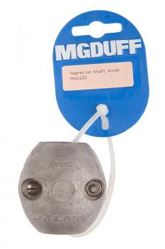 """MGDuff Magnesium Shaft Anode 1"""" MSA100"""