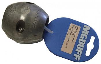 """MGDuff Magnesium Shaft Anode 1 1/4"""" MSA125"""