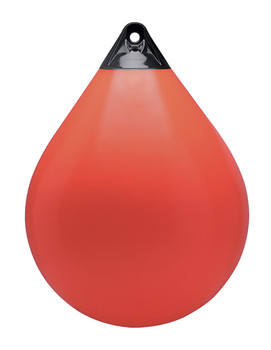 "Polyform Round Buoy A5 100"" Red"