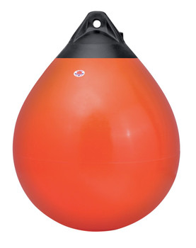 "Polyform Round Buoy A6 110"" Red"