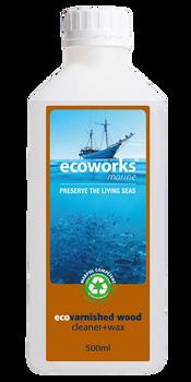 Ecomarine 500mL Varnished Wood Cleaner and Wax