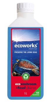 Ecoworks Eco Toilet & Washroom Cleaner 1L