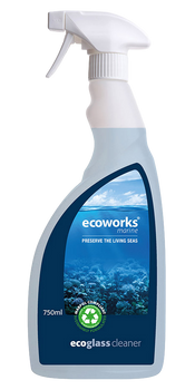Ecoworks Eco Glass & Chrome Cleaner 750ml