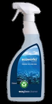 Ecoworks Eco Glass & Chrome Cleaner 750ml
