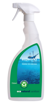 Ecoworks Eco Natural Sanitiser 750ml