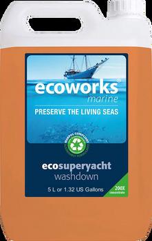Ecoworks Eco  Yacht & Boat Washdown  5L