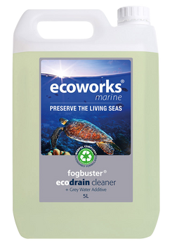 Ecoworks  Fogbuster Drain Cleaner  &  Grey Water Additive 5L