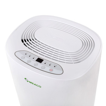 Meaco ABC 10L Dehumidifier - white - top controls