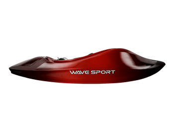 Wavesport Mobius 57 - WhiteOut, Cherry Bomb - Side