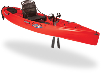 Hobie Kayaks Revolution 11 Red Hibiscus