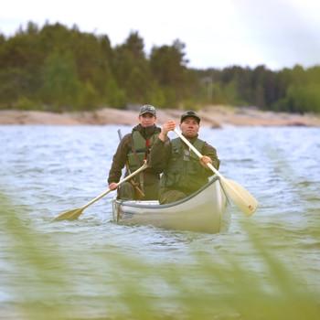 Lahnakoski Indi Tour canoeing