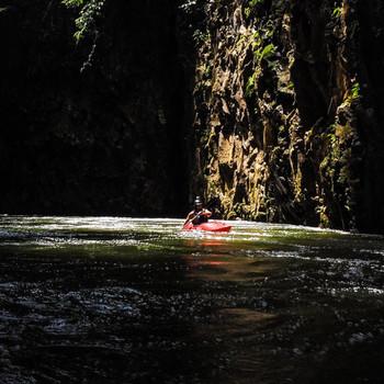 Titan Yantra 7.9 kayak - action