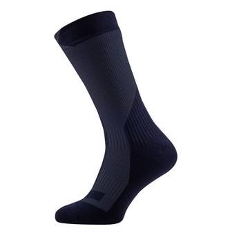Sealskinz Trekking Mid Socks - Black/Anthracite