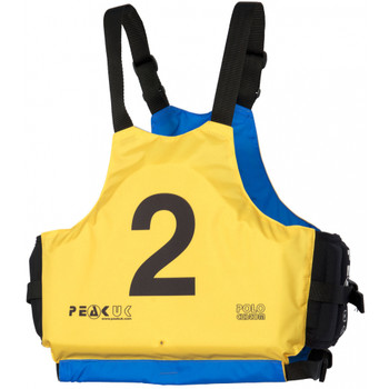 PEAK UK Polo Custom PFD- Yellow