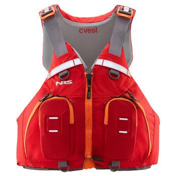 NRS CVest Mesh Back PFD, Red, Front