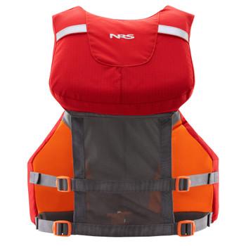NRS CVest Mesh Back PFD, Red, Back