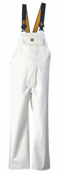 Guy Cotten Nylpeche Bib and Braces - White