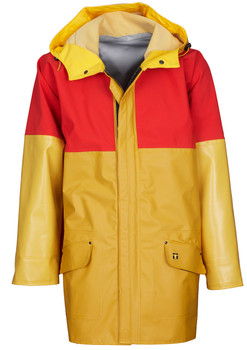 Guy Cotten Drempro Breathable Jacket Yellow Red