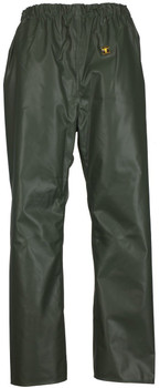 Guy Cotten Elastic Waist Trousers - Green