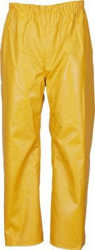 Guy Cotten Elastic Waist Trousers - Yellow