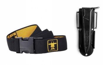 Guy Cotten belt and knife sheath