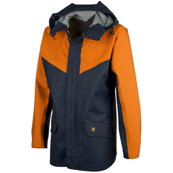 Guy Cotten Eureka Jacket in Navy / Orange