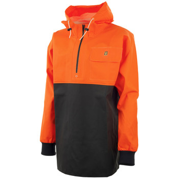 Guy Cotten Chinook Hooded Smock - Fluorescent Orange and Black