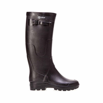Aigle Black Rubber Boots