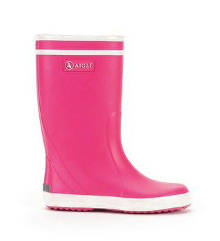 Pink Aigle Children Boots Lolly Pop
