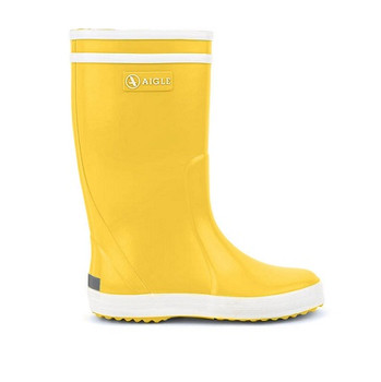 Yellow Aigle Children Boots Lolly Pop
