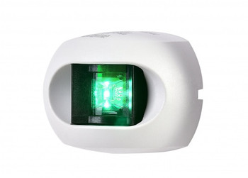 Aqua Signal LED Series 34 Starboard Navigation Light White