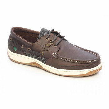 Dubarry Regatta deck shoes - donkey brown