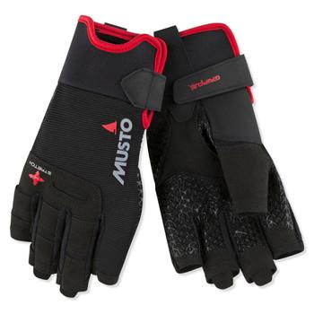 Musto Performance Glove - Short Finger - Black