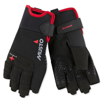 Musto Performance Glove - Short Finger - Black