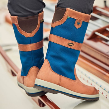 Dubarry Shamrock ExtraFit sailing boots - action