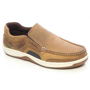 Dubarry Yacht Deck Shoes - Brown Nubuck