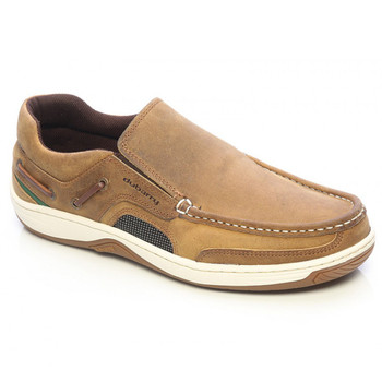 Dubarry Yacht Deck Shoes - Brown Nubuck