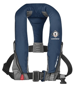 Crewsaver Crewfit Sport Lifejacket Auto  Harness 165N Navy