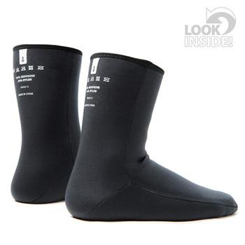 Rooster Thermaflex Wet Socks - inside