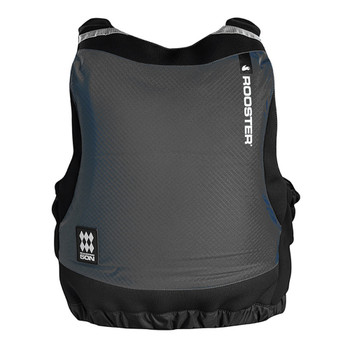Rooster Side Zip Buoyancy Aid Graphite - back