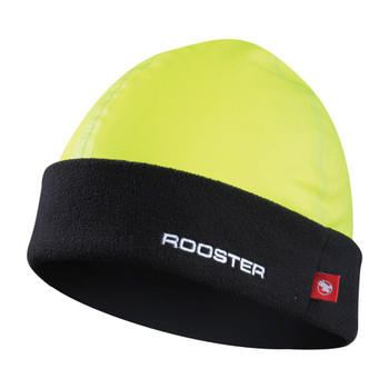 Rooster Pro Aquafleece Beanie florescent yellow